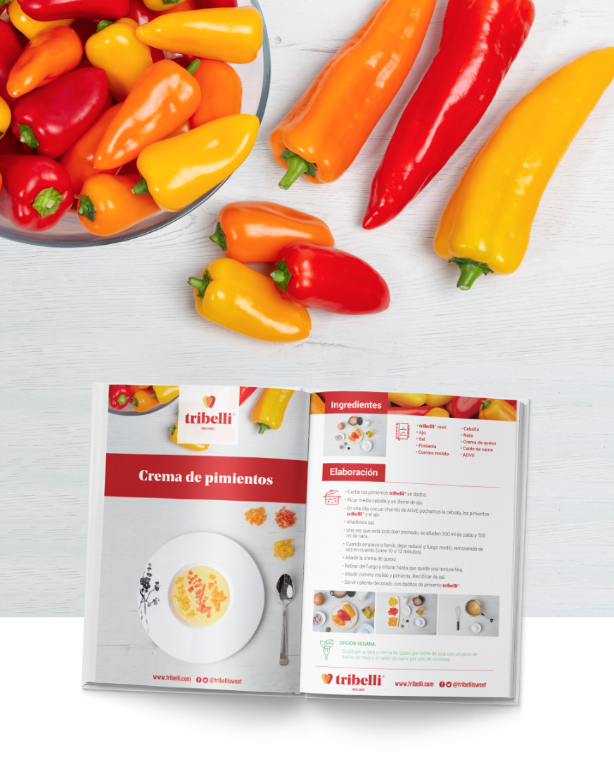Cooking Book - Tribelli® - Enza Zaden
